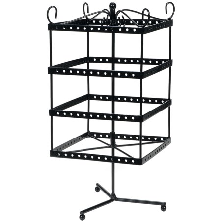 Jewelry Dsply Shelf 6X6X13 In. Black