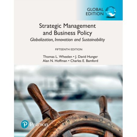 STRATEGIC MANAGEMENT & BUSINESS POLICY G