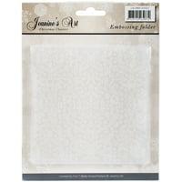Find It Jeanine's Art Christmas Classics Embossing Folder-Christmas Classics #1