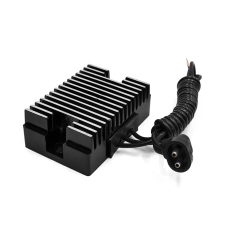 Black Metal Motorcycle Voltage Regulator Rectifier for Harley Davidson - image 1 de 2