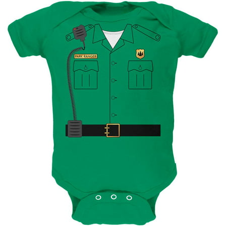 Halloween Forest Park Ranger Costume Soft Baby One Piece](Reseda Park Halloween)