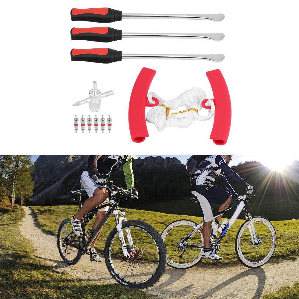 Kit de réparation perforation /& leviers cyclisme vélo VTT plat Pneu
