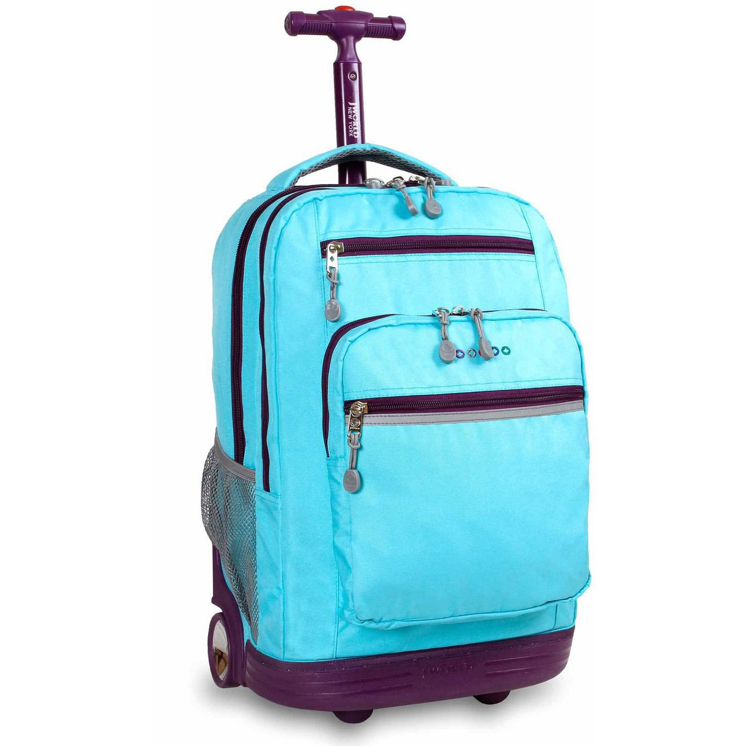 J World Sundance Laptop Rolling Backpack