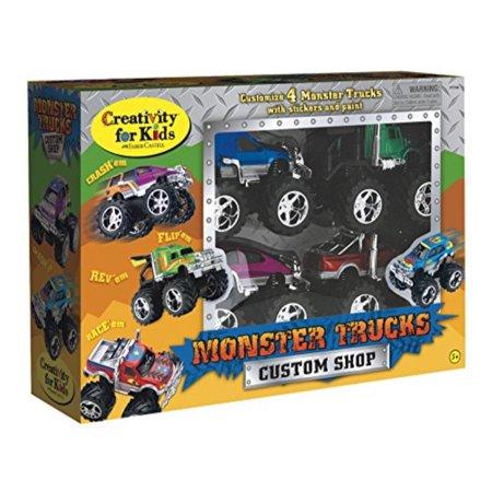 Creativity for Kids Monster Truck Custom Shop - Customize 4 Monster (Custom Truck)