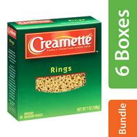 (6 Pack) Creamette Rings Pasta, 7 oz
