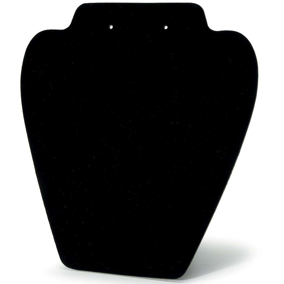 """Folding Velvet Jewelry Stand 7.25"""" 6/pkg, Black"""