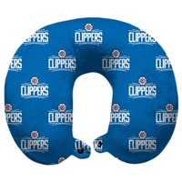 LA Clippers Polyester-Fill Travel Pillow - No Size
