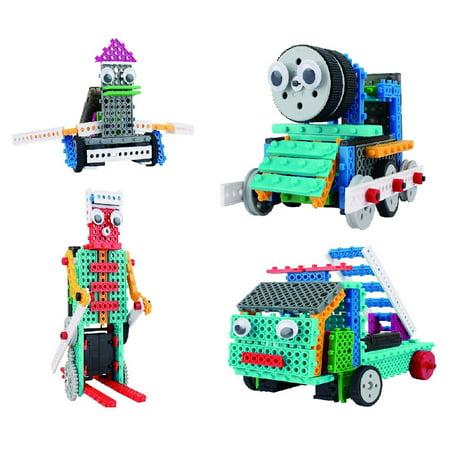 Build A Robot Kit (Build Your Own Remote Control Robot Toy - 370pcs -Robot)
