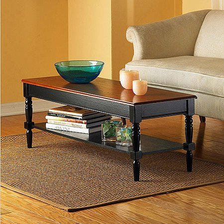 Convenience Concepts French Country Coffee Table Multiple Finishes - Convenience concepts french country coffee table