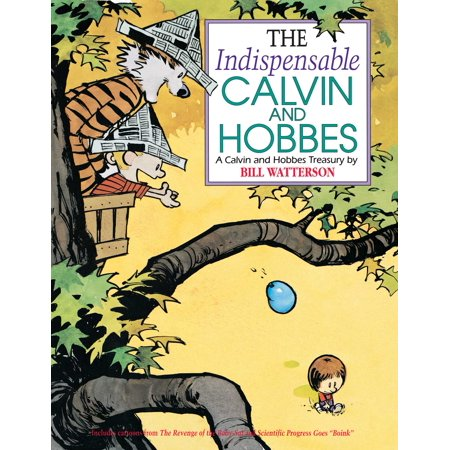 The Indispensable Calvin and Hobbes - Calvin And Hobbes Halloween Comic