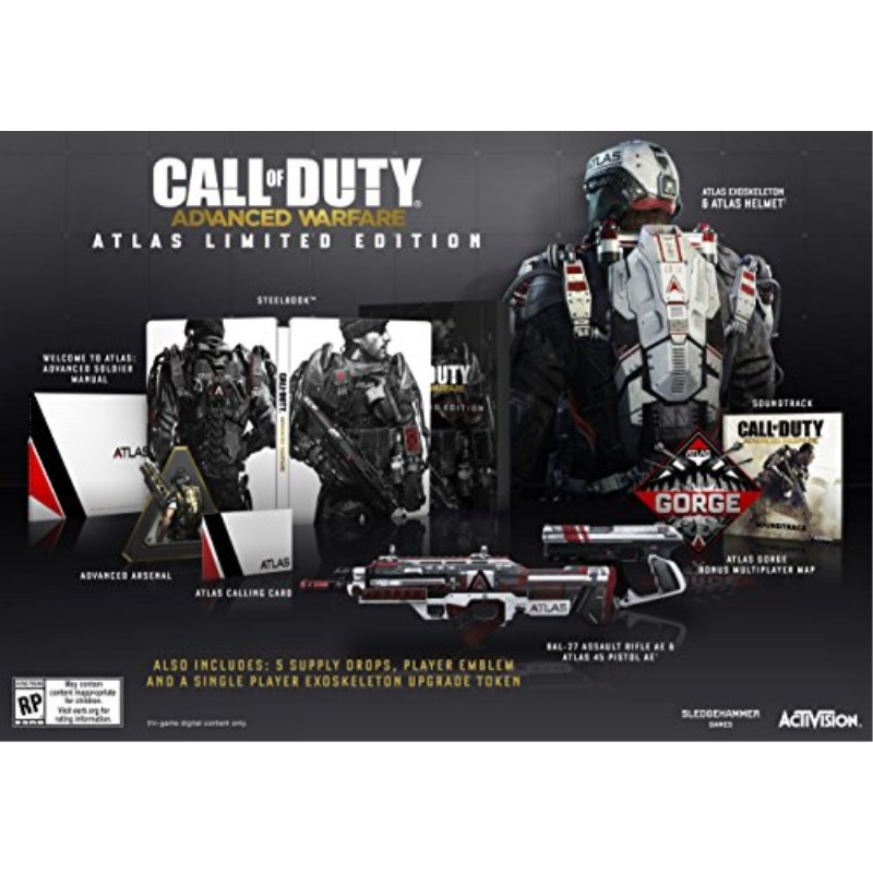 Call of Duty: Advanced Warfare Atlas Limited Edition - PlayStation 3