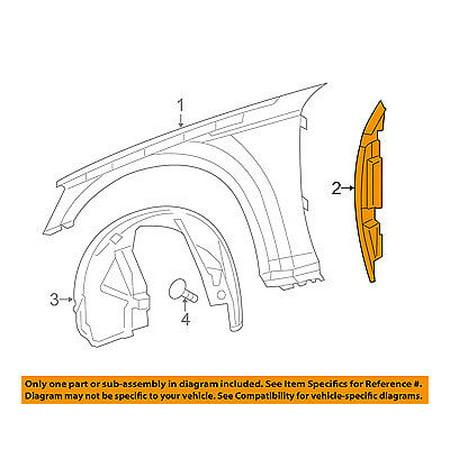 CHRYSLER OEM 11-16 300 Fender-Liner Inner Panel Cover Right (Chrysler 300 Fender)