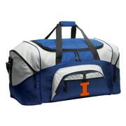 Broad Bay Illini Duffel or Illinois Luggage