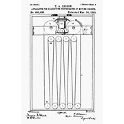 Best Image Art Projectors - Edison Projector 1893 Npatent Drawing 1893 Of Thomas Review