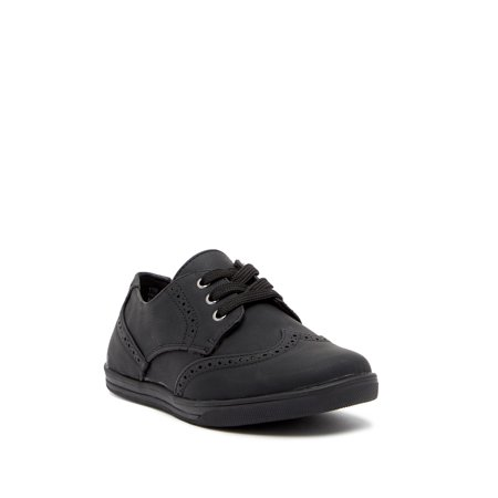 Wingtip Shoes For Toddlers (Scott David CHANDLER Toddler Youth Boys Black Wingtip Sneaker)