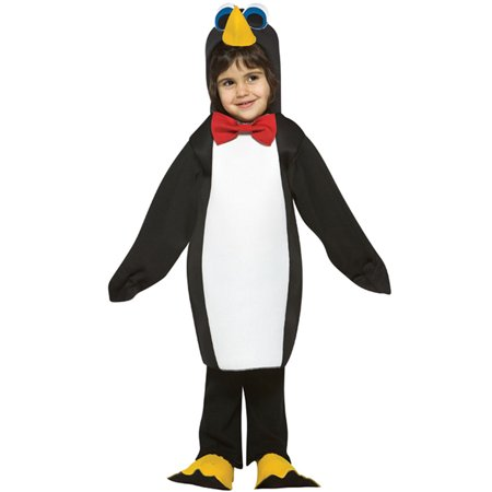 Penguin Toddler Halloween Costume, Size - Party City Penguin Costume