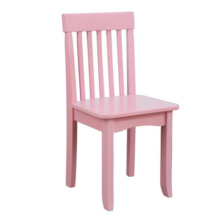Phenomenal Kidkraft Avalon Wooden Single Classic Back Desk Chair For Children Pink Gamerscity Chair Design For Home Gamerscityorg