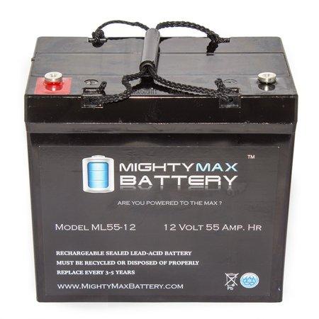 12V 55Ah Internal Thread Battery For Quickie Rhythm M3hd M5hd M7hd