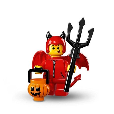 LEGO Series 16 Cute Little Devil Halloween Minifigure - Lego Halloween Vampires