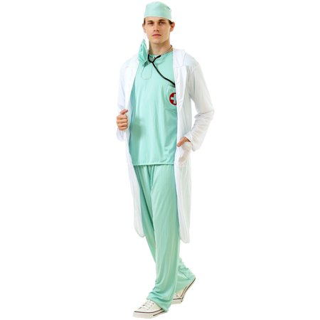 Dashing Doctor Adult Costume, XL