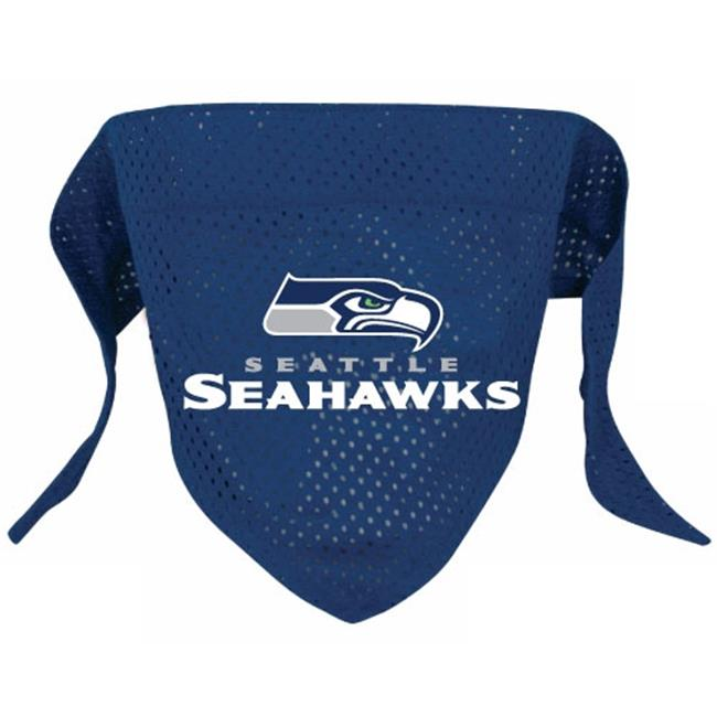 DoggieNation 716298009655 Small Seattle Seahawks Dog Bandana