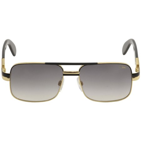 653612cc3c6b9 CAZAL - Cazal Legends Men s 988 001 Black Gold Fashion Pilot Sunglasses  57mm - Walmart.com
