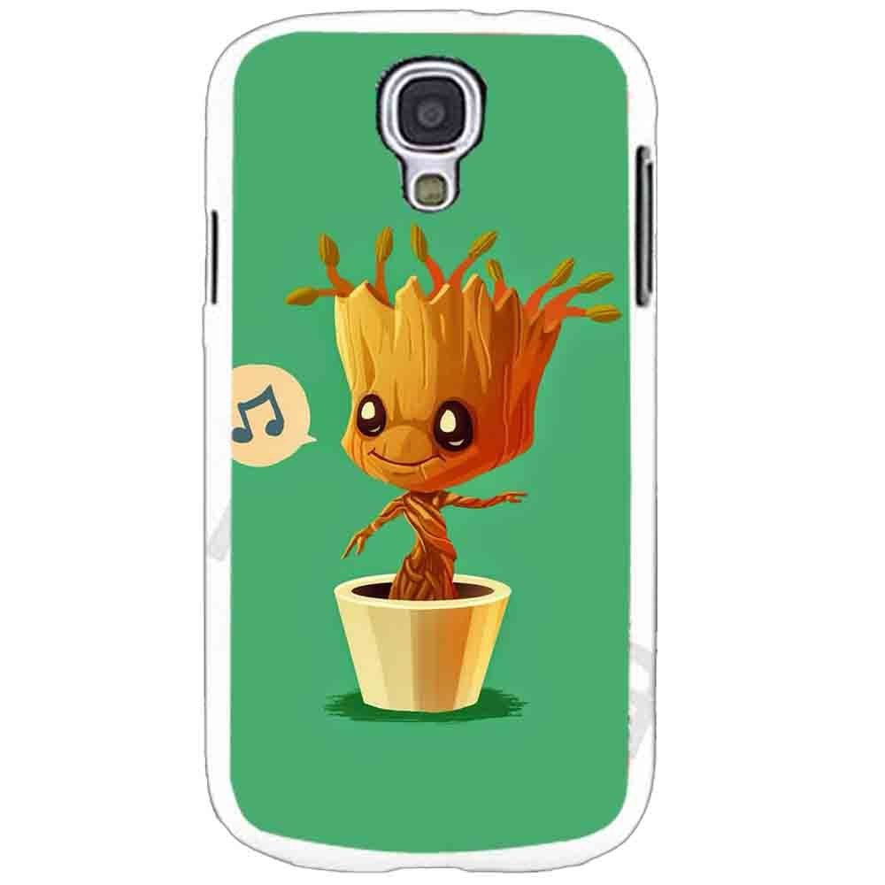 Ganma Baby Groot Humming - Guardians of the Galaxy Design Case For Samsung Galaxy Case (Case For Samsung Galaxy S4 white)
