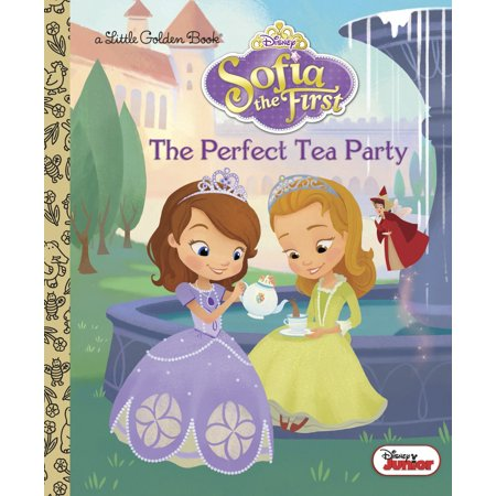 The Perfect Tea Party (Disney Junior: Sofia the First) (Hardcover) (Party City Sofia The First)