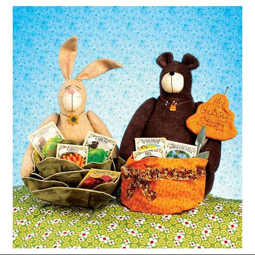 Bear and Bunny Baskets - Pattern
