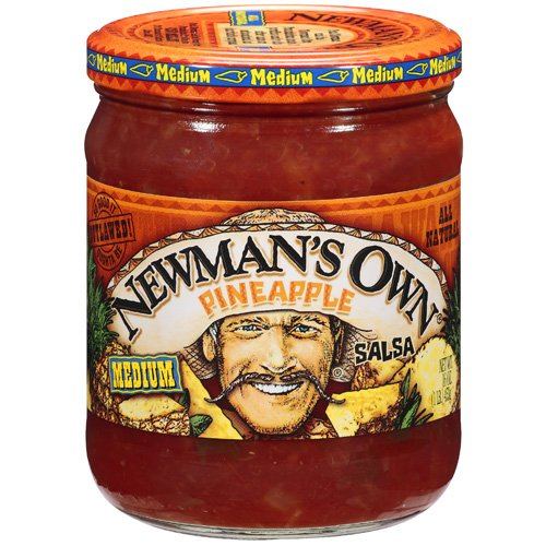 Newman's Own: Pineapple Medium Salsa, 16 Oz