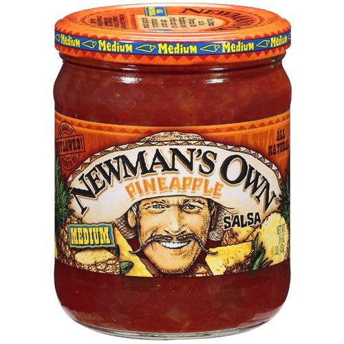 Newman's Own: Pineapple Medium Salsa, 16 Oz