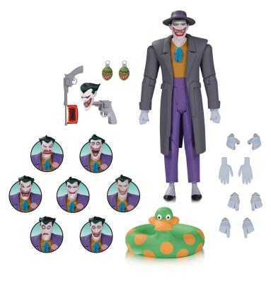 Batman The Animated Series 6 Inch Action Figure Box Set - Joker Expressions Pack