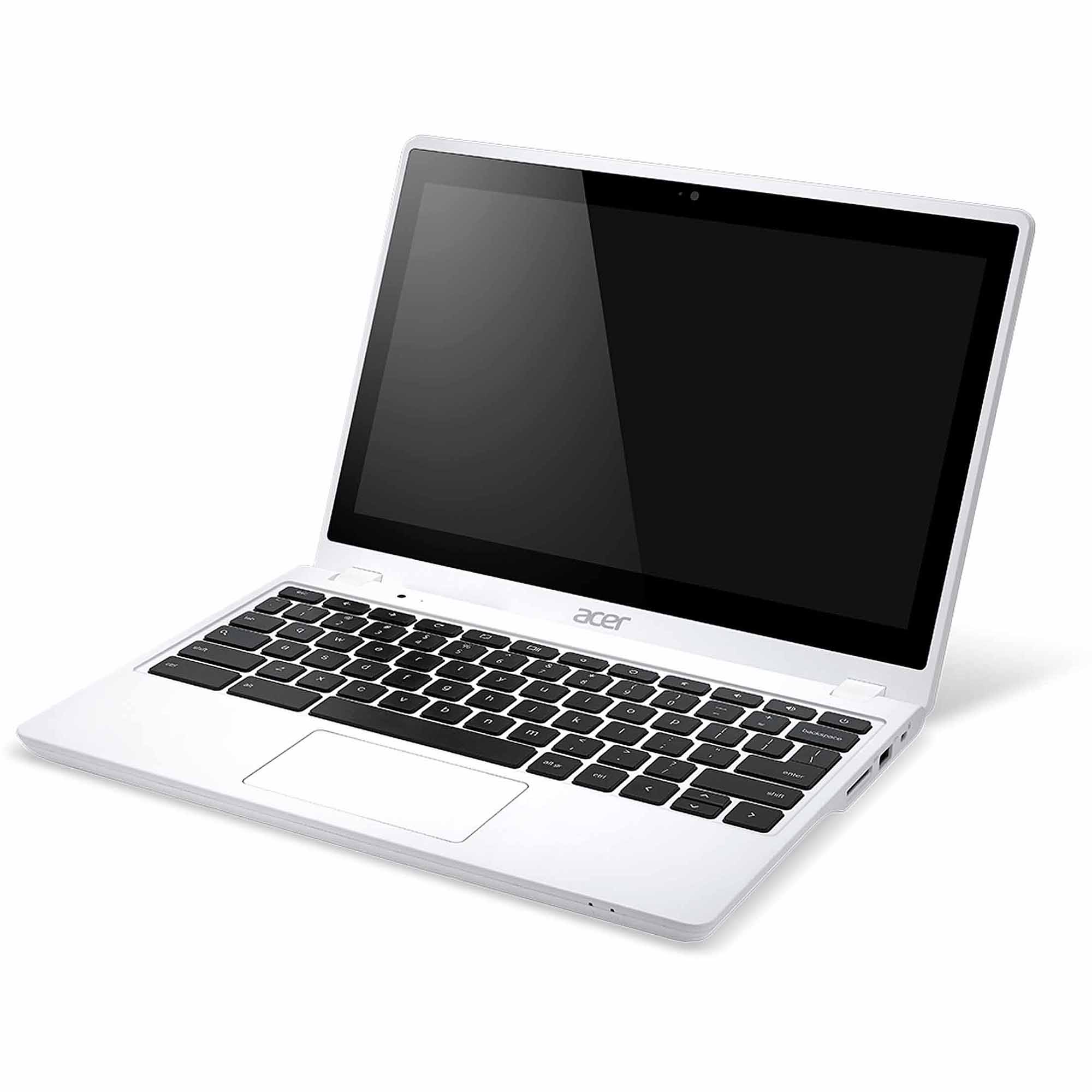 "Acer White 11.6"" C720 C720P-2457 Chromebook PC with Intel Celeron 2955U Dual-Core Processor, 4GB Memory, touch screen, 32GB SSD and Chrome OS"