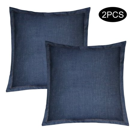 KATEVO Pillow Inserts With Pillow Protector 4040x4040 40% Cotton Impressive Long Lumbar Pillow Insert