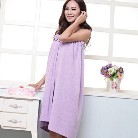 - Womens Spa Wrap - 100% Microfiber Spa, Shower, Bath and Gym Towel - One Size