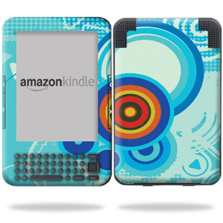 Mightyskins Protective Vinyl Skin Decal Cover for Amazon Kindle 3 (Fits  Kindle Keyboard) 6