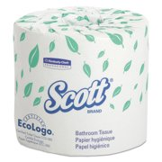 Scott Essential Professional Bulk Toilet Paper for Business (04460), Individually Wrapped Standard Rolls, 2-PLY, White, 80 Rolls per Case, 550 Sheets per Roll