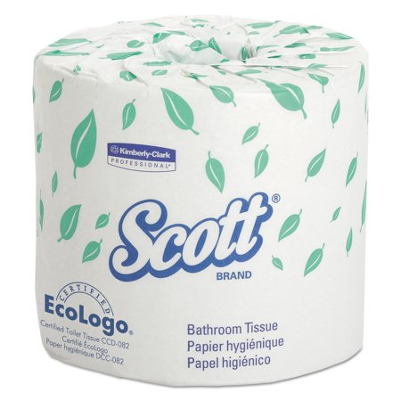Designer Bathroom Tissue (Kimberly-Clark Professional Scott Standard Two-Ply Bathroom Tissue, 605 sheets, 80 ct )