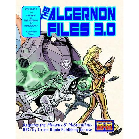 Image of Algernon Files 3.0, Volume 1