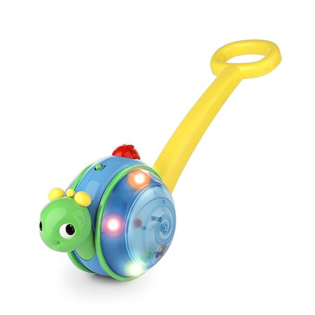 Alligator Walking Push Toy (Bright Starts Roll & Glow Snail Walk & Push-Along Toy )