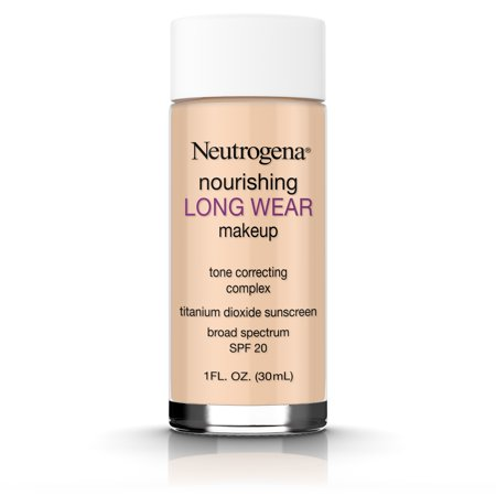 Neutrogena Nourishing Long Wear Liquid Makeup Foundation With Sunscreen, 60 Natural Beige, 1 Fl.