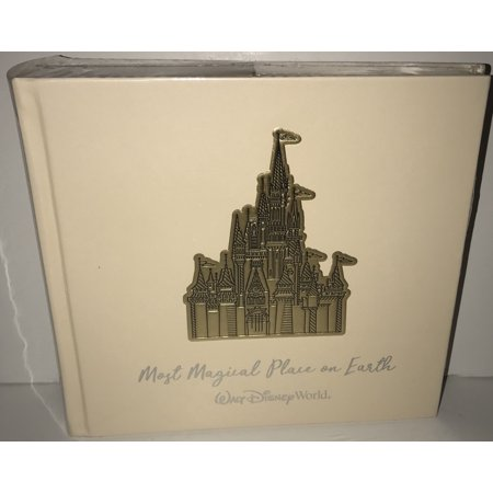 Disney Parks Most Magical Place on Earth Photo Album 200 with Pen New Disney 8x8 Album