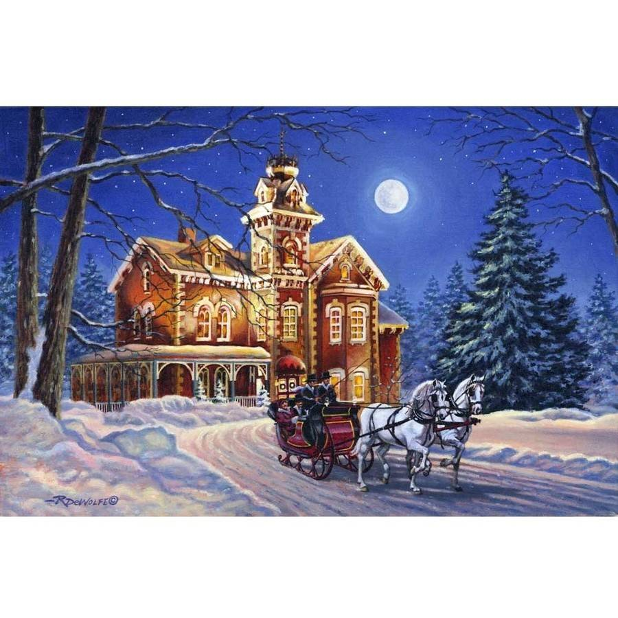 Springbok Moonlight Travelers 1,000-Piece Jigsaw Puzzle by Generic