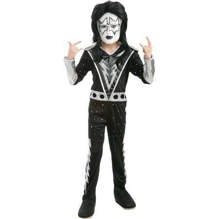 Boys Kiss Spaceman Ace Frehley Rock Star Costume