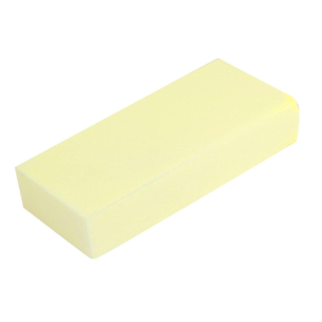 Durable Practical Water Absorbent Car Wash Sponge Block Yellow