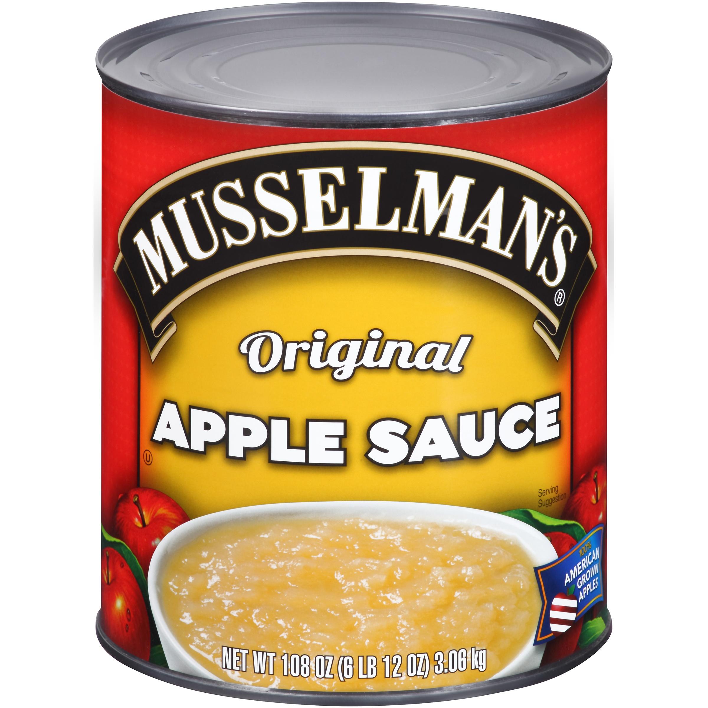 Musselman's Original Applesauce 108oz
