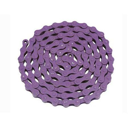 YBN Chain 1/2x1/8x112 Purple. for bicycle Chain, bike chain, lowrider bikes, beach cruiser, chopper, limos, stretch, bmx