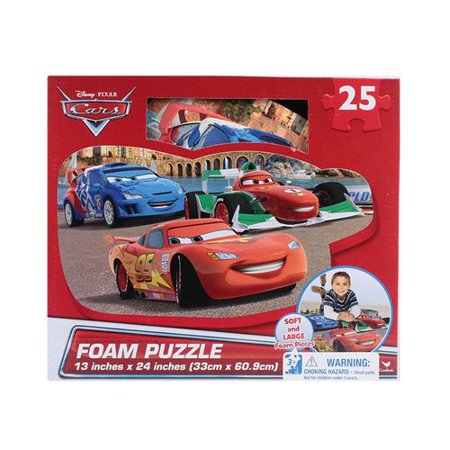 Disney Cars 25 Piece Floor Foam Puzzle Mat
