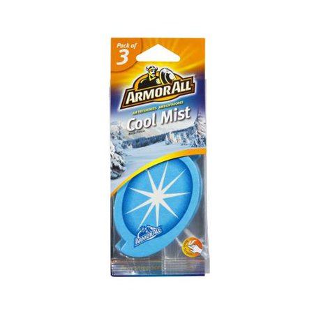 Armored Auto Group Sales 17792 Car Air Freshener  Card  Cool Mist Scent  3 Pk