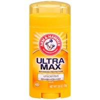 ARM & HAMMER ULTRA MAX Solid AntiPerspirant Deodorant, Unscented, 2.6 oz.
